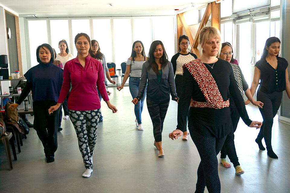 Free Indonesian Dance Workshops by Kyrsten Blair